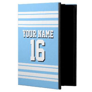 Sky Blue White Team Jersey Custom Number Name