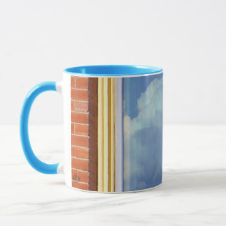 Sky Brick Window Mug