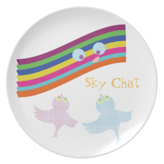 Sky Chat Plates