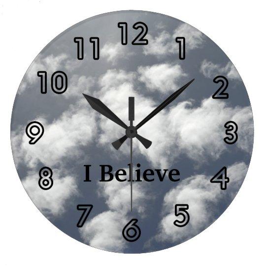 Sky Clouds Church Clocks