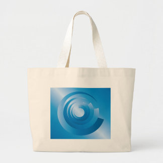 sky colors spinning large tote bag
