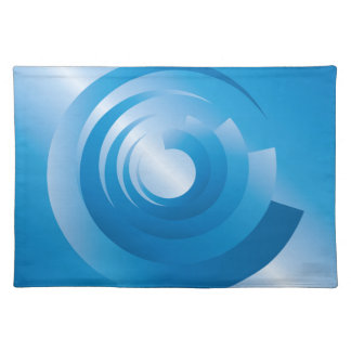 sky colors spinning placemat