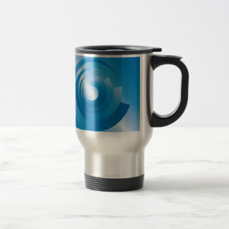 sky colors spinning travel mug