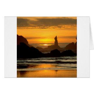 Sky Coquilla Point Oregon Oregon Card