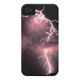 Sky Electric Evening Lightning iPhone 4 Cover