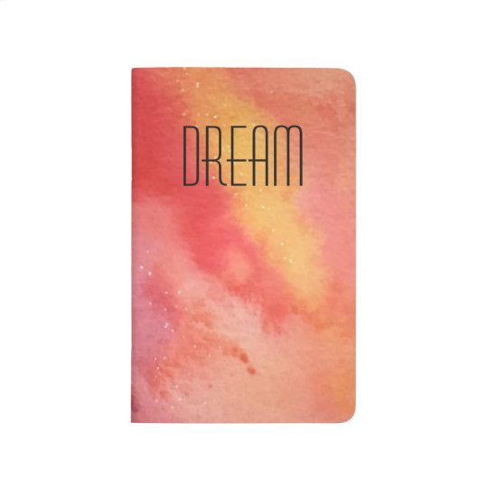 Sky Fire Sunset Watercolor Mini Pocket Journal