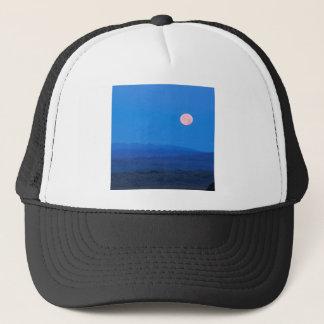 Sky Full Moon Aboverolling Tundra Alaska Trucker Hat