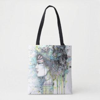 Sky Gypsy Fantasy Boho Style Artwork Tote Bag