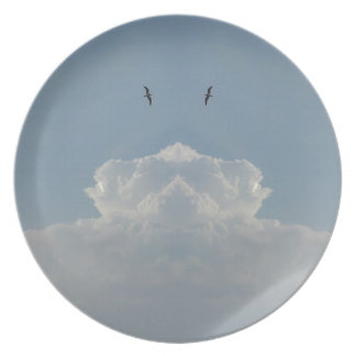 Sky high party plates