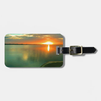 Sky High Sunset Bag Tag