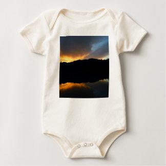 sky in the mirror baby bodysuit