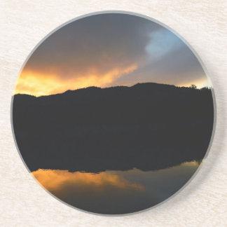 sky in the mirror coaster