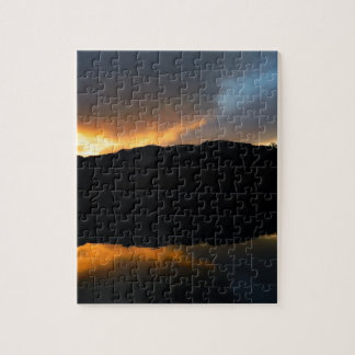 sky in the mirror jigsaw puzzle