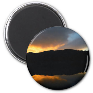 sky in the mirror magnet