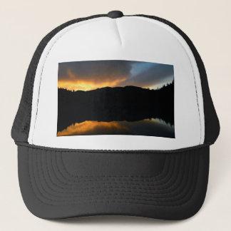 sky in the mirror trucker hat