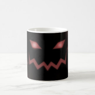 SKY JACK Pumpkin Jack-o-Lantern Face Red Mugs