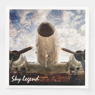 Sky Legend Customizable Paper Napkins