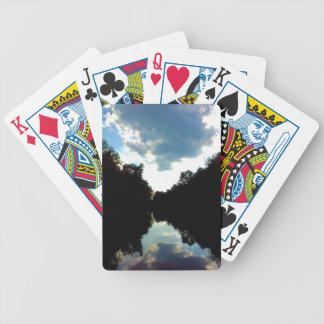 Sky light poker deck