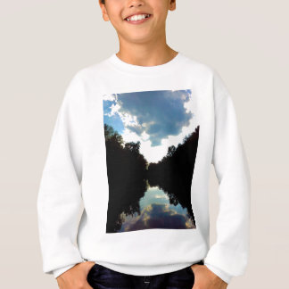 Sky light sweatshirt