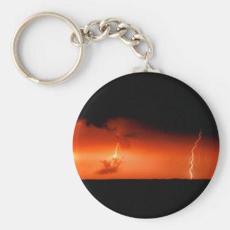 Sky Lightning Bolts Extreme Keychain