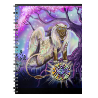 Sky Lion~notebook Spiral Notebook