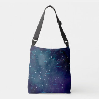 Sky Map Constellations Astronomy Crossbody Bag