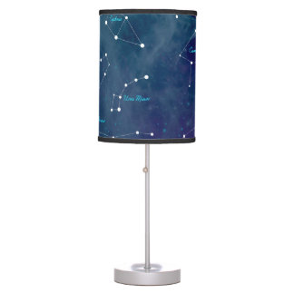 Sky Map Constellations Astronomy Table Lamp