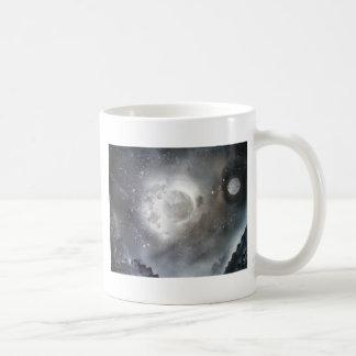 Sky moon coffee mug