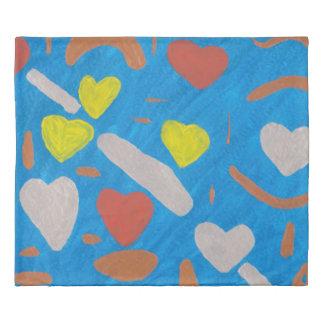 Sky of Love Duvet Cover
