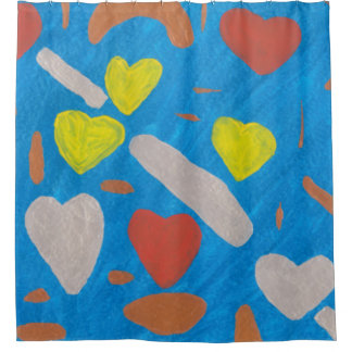 Sky of Love Shower Curtain
