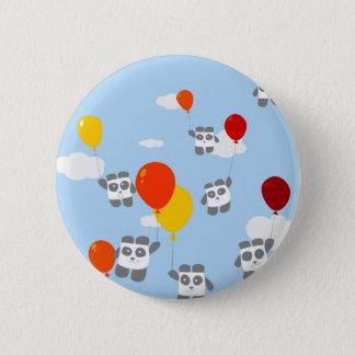 Sky Pandas 2 Inch Round Button