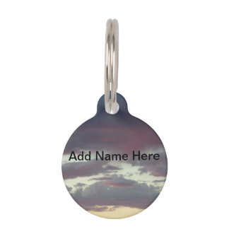Sky Pet Name Tag