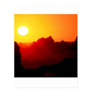 Sky Pfeiffer Beach Big Sur California Postcard