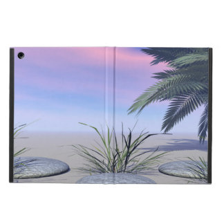 sky pink and zen iPad air cover