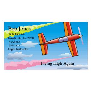 Sky Plane Business Card Template