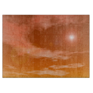 sky_red_standard_sun cutting board