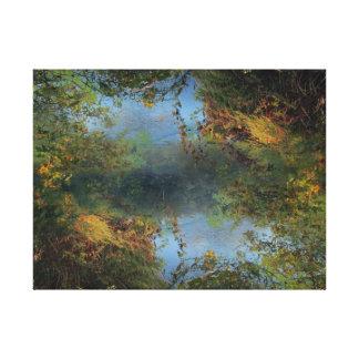 Sky River Canvas Print