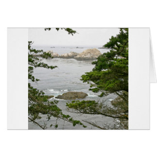 Sky River Mouth Haze Greeting Card