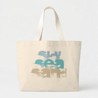 Sky, Sea, Sand Beach Custom Jumbo Tote