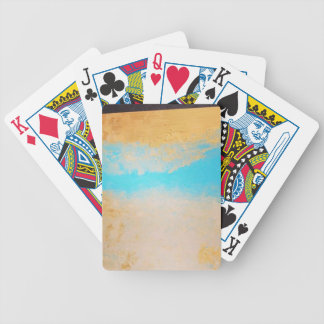 Sky, Sea Sand on Canvas Bicycle Playing Cards