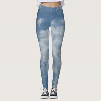 Sky sky Custom put-went Leggings