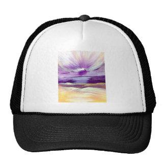 Sky Sounds Sunrise Inspiring Inspirational Art Hat