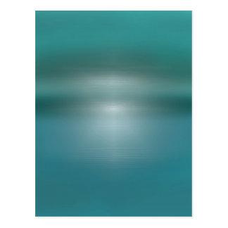 Sky water postcard