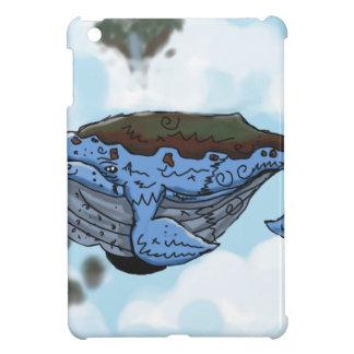 sky whale iPad mini covers