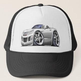 Sky White Car Trucker Hat