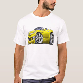 Sky Yellow Car T-Shirt