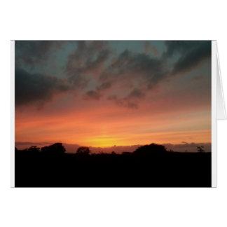 skyblaze - August sunset Card