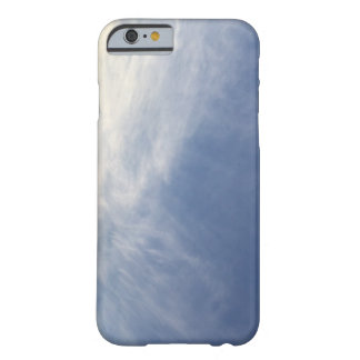 Skyblue and white PhoneCase Barely There iPhone 6 Case