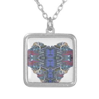 SkycityFlatsONE Silver Plated Necklace