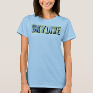 Skydive clouds cool and comfy T-Shirt